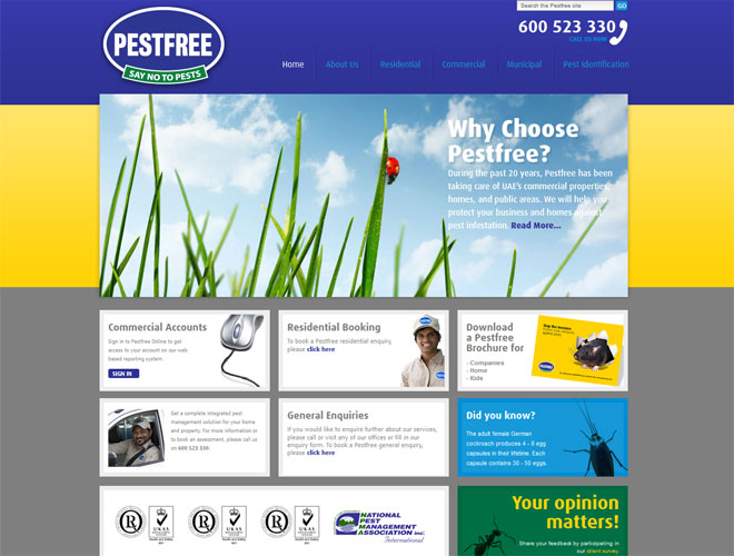 Pestfree - Screenshot
