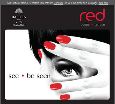 Raffles Dubai - Screenshot