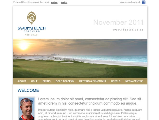 Saadiyat Beach Golf Club - Screenshot