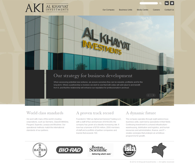 Al Khayyat Investments - Screenshot